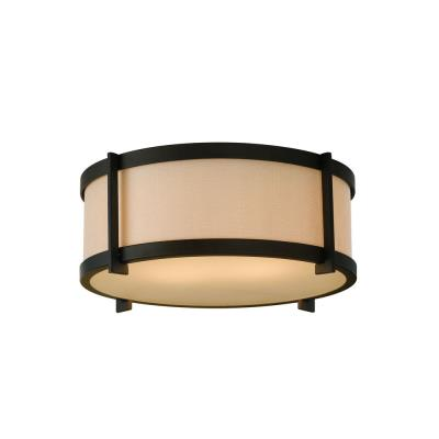 Feiss FM335ORB Stelle - Two Light Flush Mount