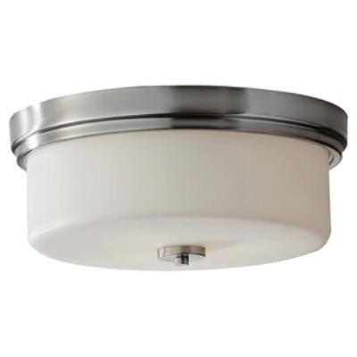 Feiss FM371BS Kincaid - Three Light Flush Mount