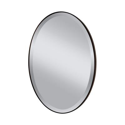 "Feiss MR1126ORB Johnson - 36"" Oval Mirror"