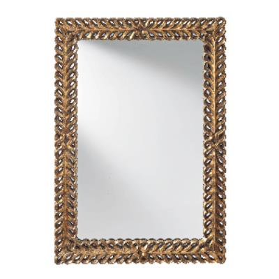 "Feiss MR1229BGD Levant - 32"" Mirror"