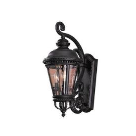 Feiss OL1901BK Wall Mount Lantern
