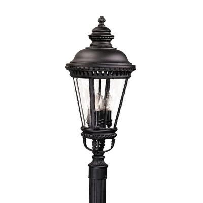 Feiss OL1908BK Pier/Post Lantern
