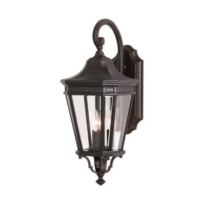 Feiss OL5402GBZ Cotswold Lane - Three Light Outdoor Wall Lantern