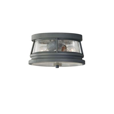 Feiss OL8113STC Chelsea Harbor - Two Light Outdoor Flush Mount