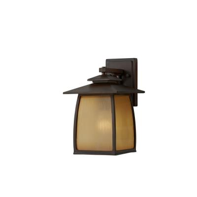 Feiss OL8501SBR Wright House - One Light Outdoor Wall Lantern