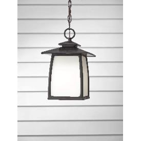 Feiss OL8511ORB Wright House - One Light Outdoor Lantern Hanging