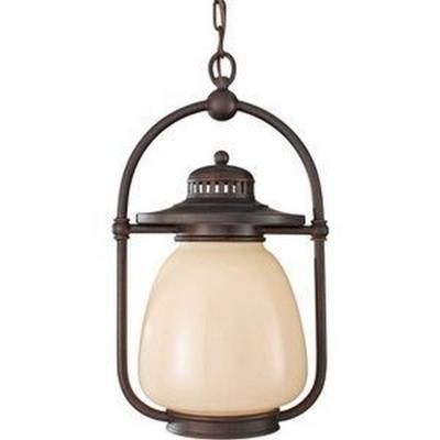 Feiss OLPL7411GBZ Mc Coy - One Light Outdoor Hanging Lantern