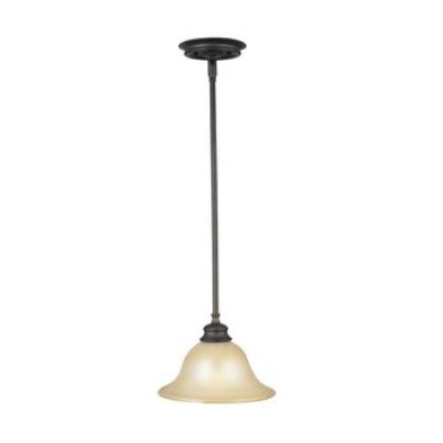 Feiss P1081ORB Single Light Adjustable Pendant
