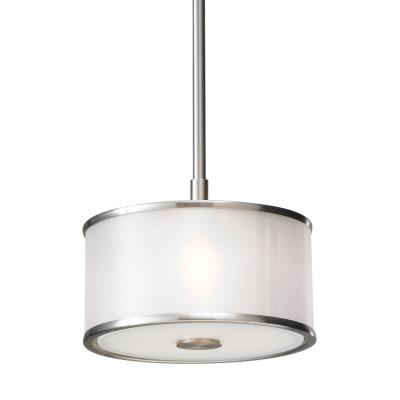 Feiss P1137BS Casual Luxury - One Light Mini-Pendant
