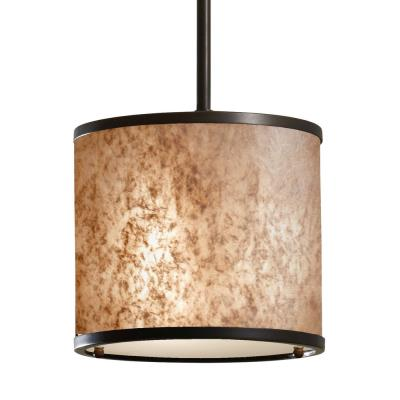Feiss P1219LAB Taylor - One Light Mini-Pendant