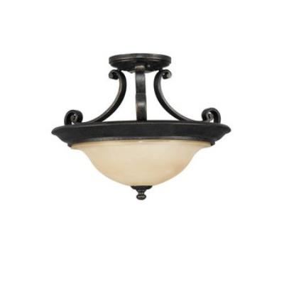 Feiss SF231LBR Cervantes CollectionSemi Flush