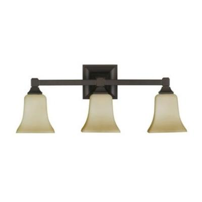 Feiss VS12403-ORB American Foursquare Collec3 Light Vanity