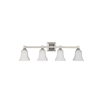 Feiss VS12404-PN American Foursquare Collec4 Light Vanity