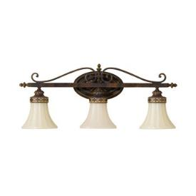 Feiss VS12503-WAL Drawing Room Collection3 Light Vanity