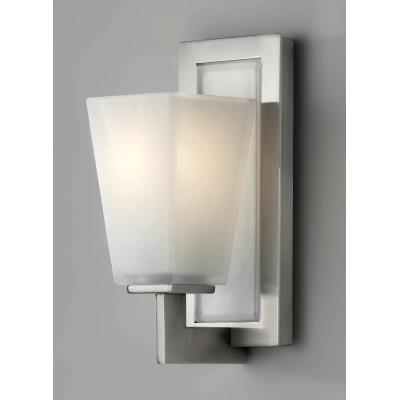 Feiss VS16601-BS Clayton - One Light Vanity Strip