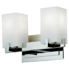 Feiss VS18402-PN Riva - Two Light Bath Vanity