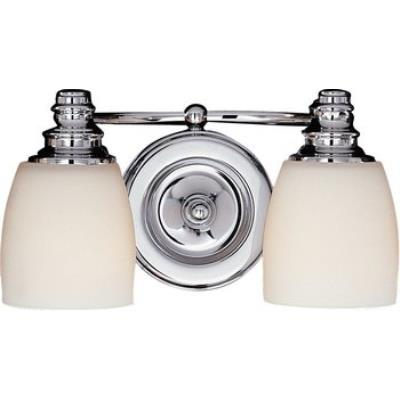 Feiss VS7402-CH Two Light Vanity Strip