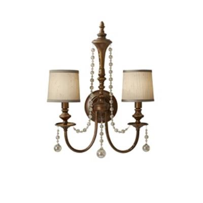 Feiss WB1582FG Clarissa - Two Light Wall Sconce