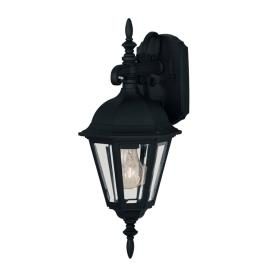 Savoy House 07075-BLK One Light Outdoor Wall Lantern