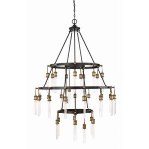 Campbell - Thirty-Five Light 3-Tier Chandelier