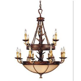 Savoy House 1-40004-12-56 Blue Ridge - Twelve Light Chandelier