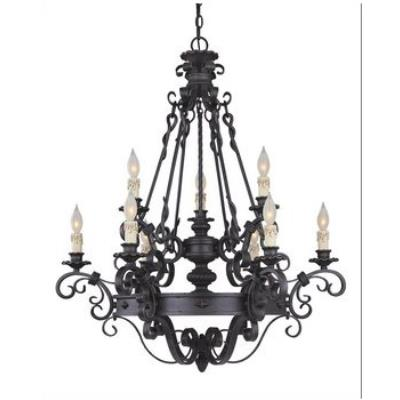 Savoy House 1-4315-9-17 Bourges - Nine Light Chandelier