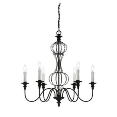 Savoy House 1-6010-6-17 Abagail - Six Light Chandelier