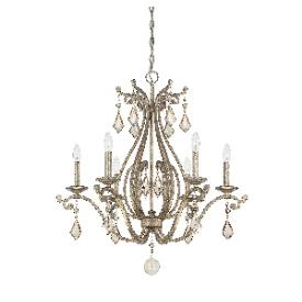 Savoy House 1-8100-6-128 Rothchild - Six Light Chandelier
