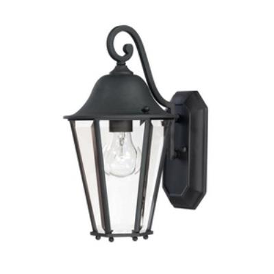 Savoy House 5-6211-BK Truscott - One Light Outdoor Wall Mount