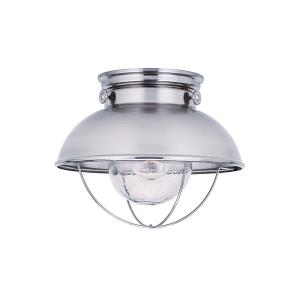 One Light Outdoor Ceiling Fixture
