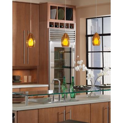 Tech Lighting 700FJFIR Fire - One Light FreeJack Low Voltage Pendant