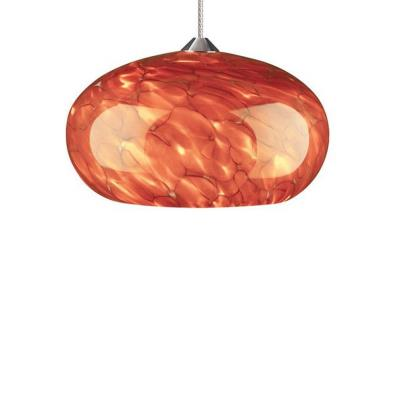 Tech Lighting 700MOME Meteor Frit - One Light Monorail Low Voltage Pendant