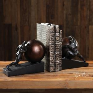"""Weight of the World - 9"""" Bookend (Set of 2)"""