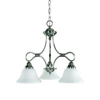 Kichler Lighting 2556AP Stafford - Three Light Chandelier